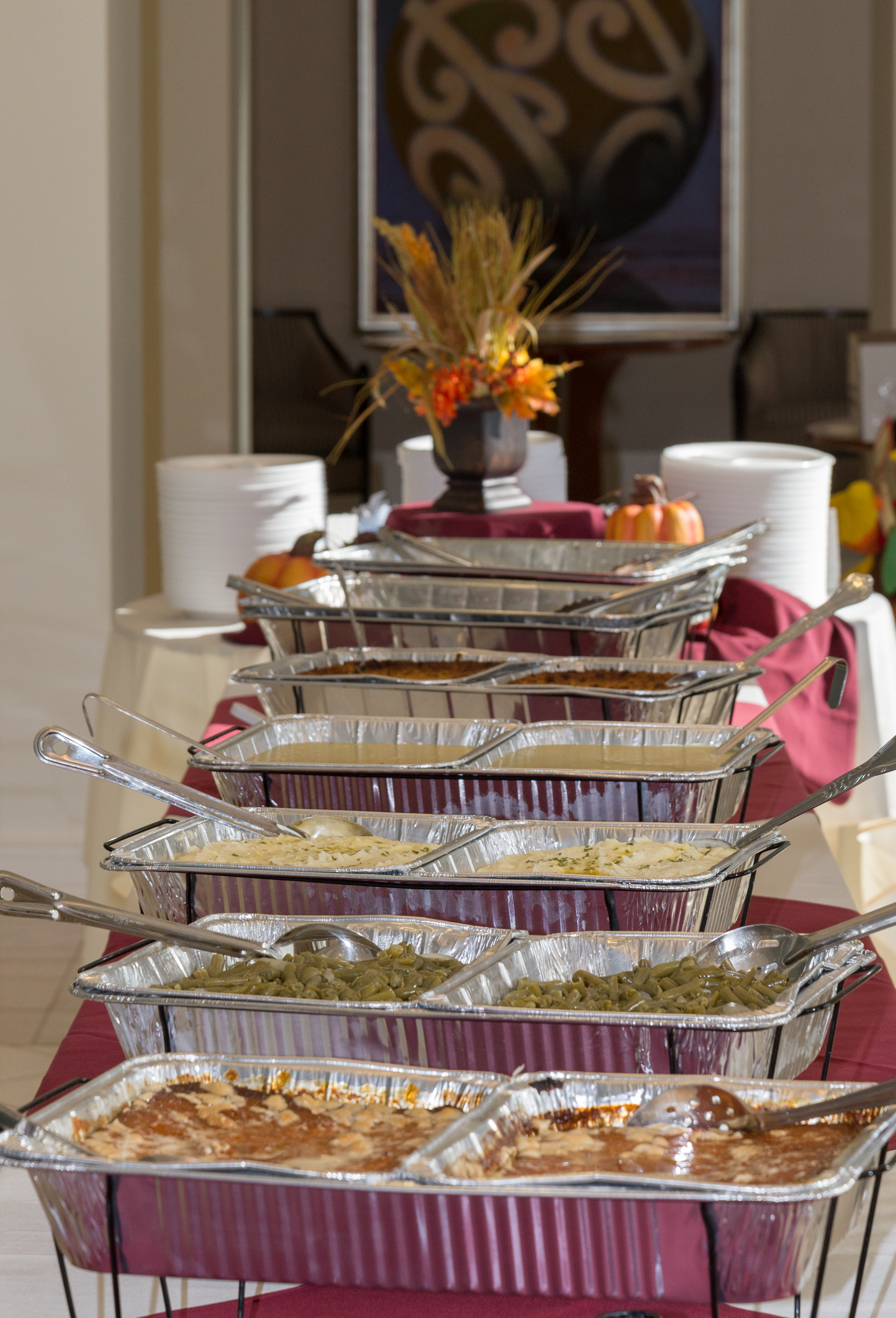 Private Parties Catering By Rodriguez - Catering buffet table setup